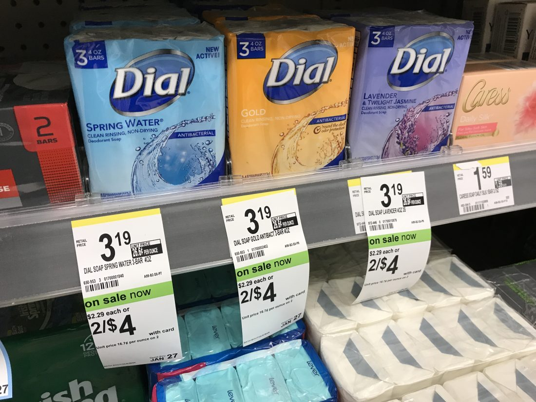 Dial Bar Soap Deal At Walgreens