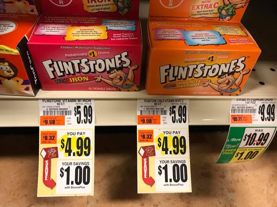 Flintstones Multivitamins At Tops