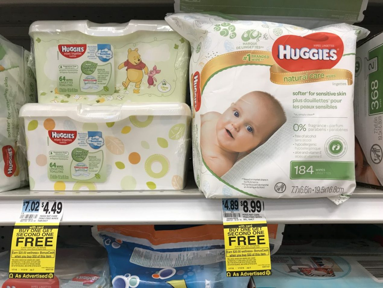 Huggies Wipes Bogo Rite Aid