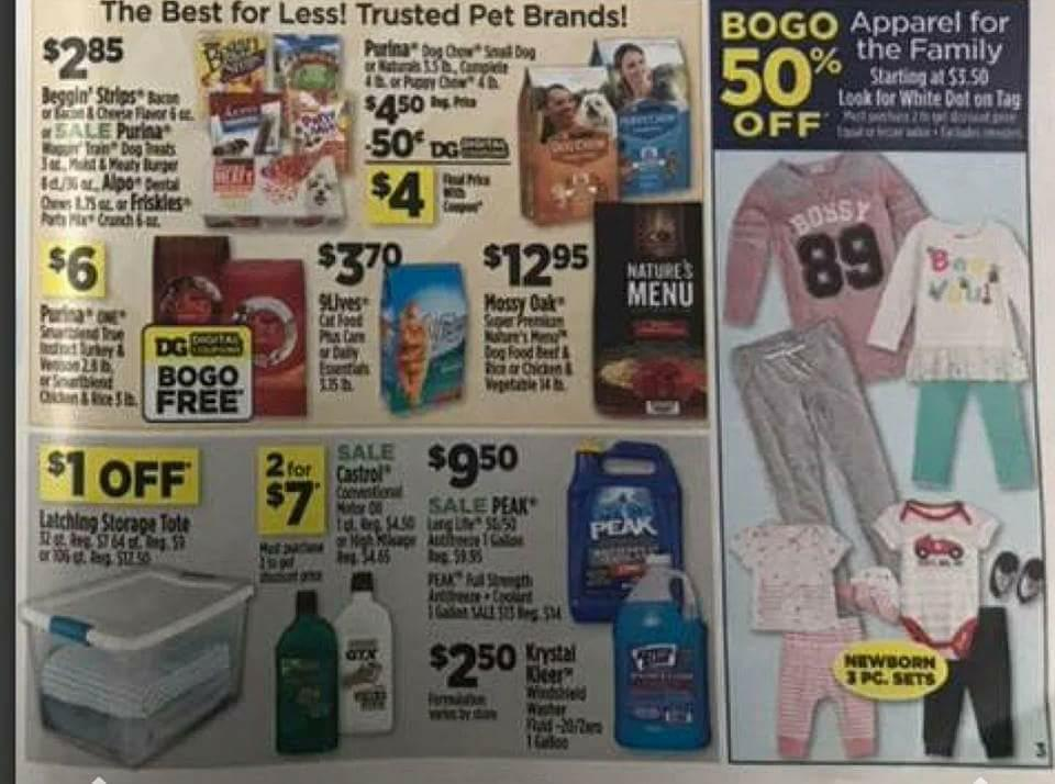 Dollar General Ad Scan Week 2 11 18 Page 3a