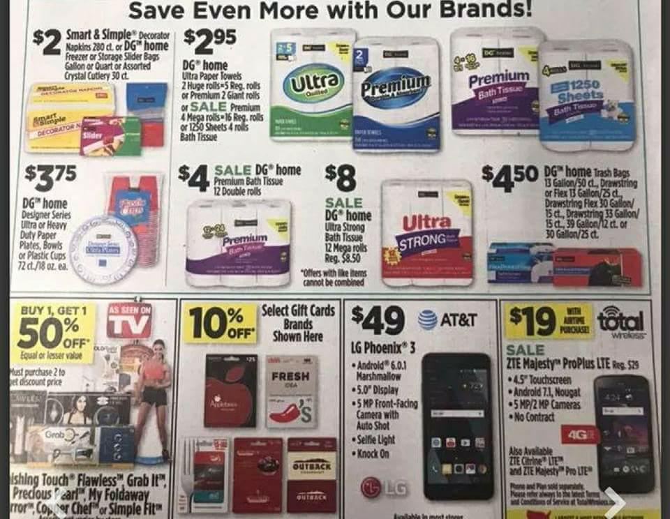 Dollar General Ad Scan Week 2 11 18 Page 4z