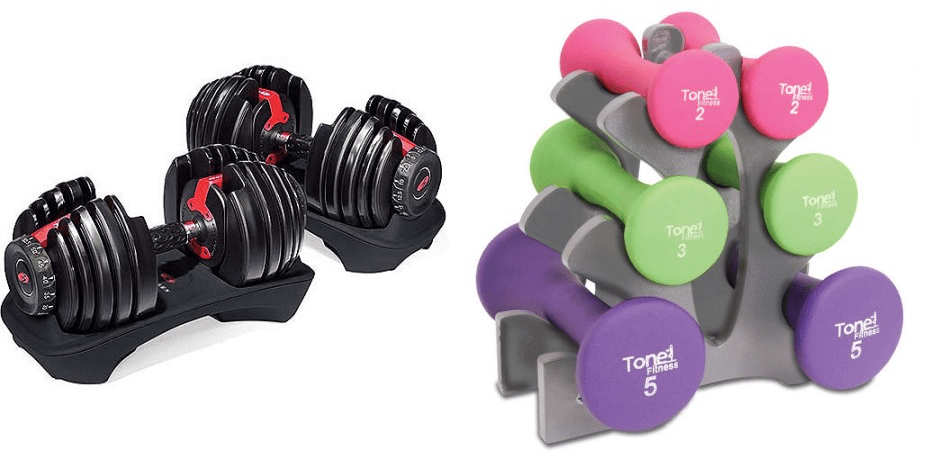 Dumbbell Set Clearanced At Walmart