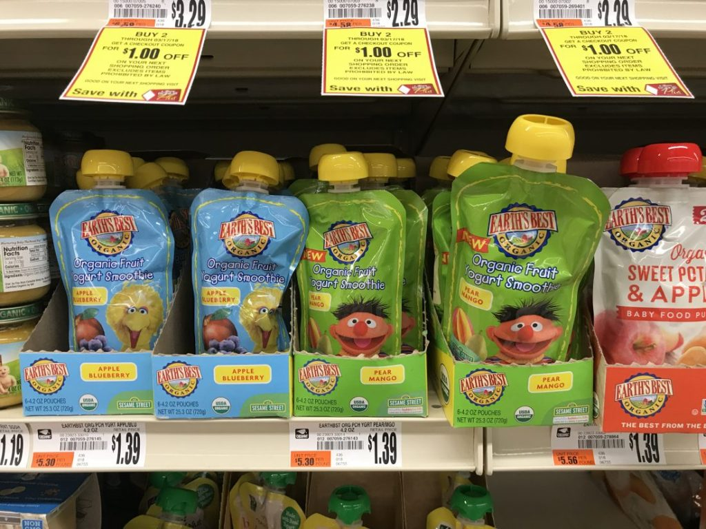 Earth's Best Pouches Organic Baby Food At Tops Markets (2)