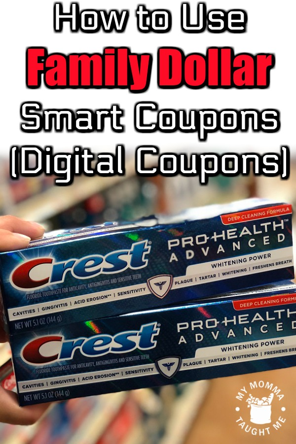 How To Use Family Dollar Smart Coupons (Digital Coupons)