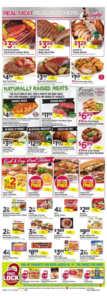 Tops Markets Ad Scan Week 2 11 Page 2