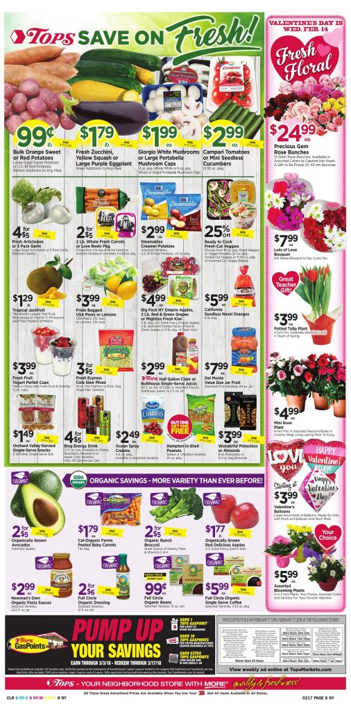 Tops Markets Ad Scan Week 2 11 Page 8