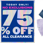 75% Off Clearance At TCP