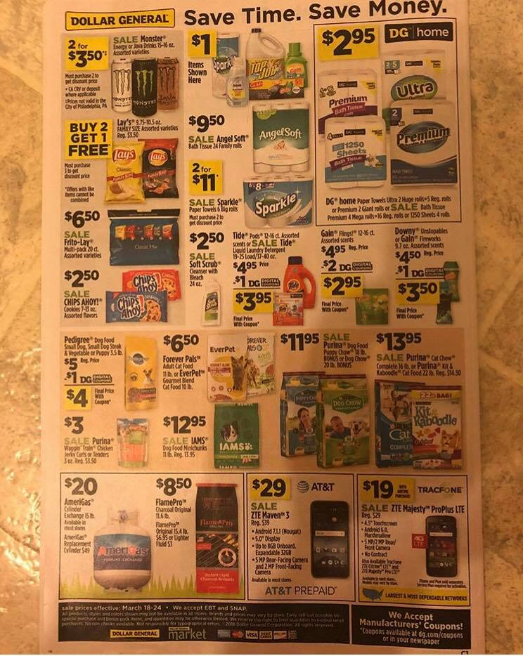 Dollar General Ad Week 3 18 Page 3