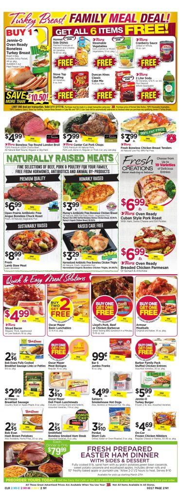 Tops Markets Ad Preview Week 3 11 18 Page 2