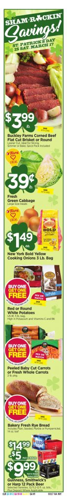 Tops Markets Ad Preview Week 3 11 18 Specials