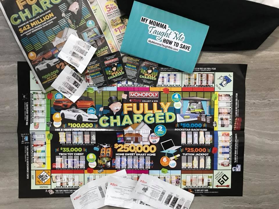 Tops Markets Monopoly 2018