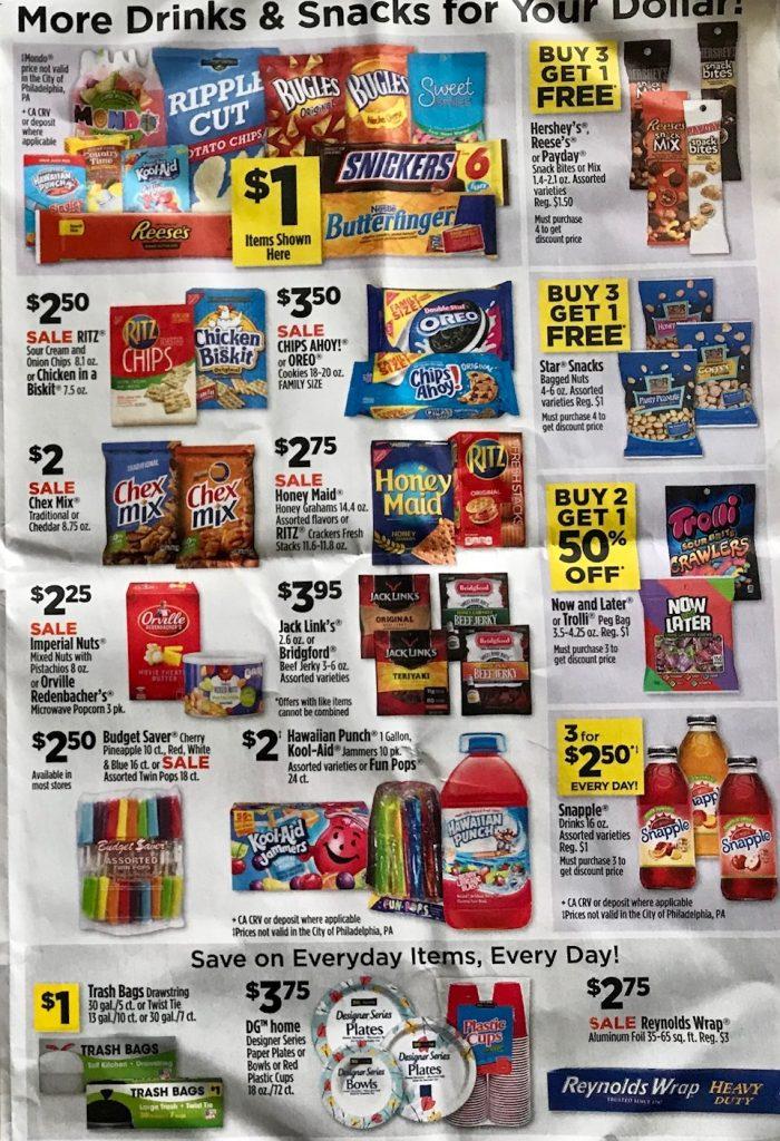 Dollar General Ad Week 4 15 18 P3