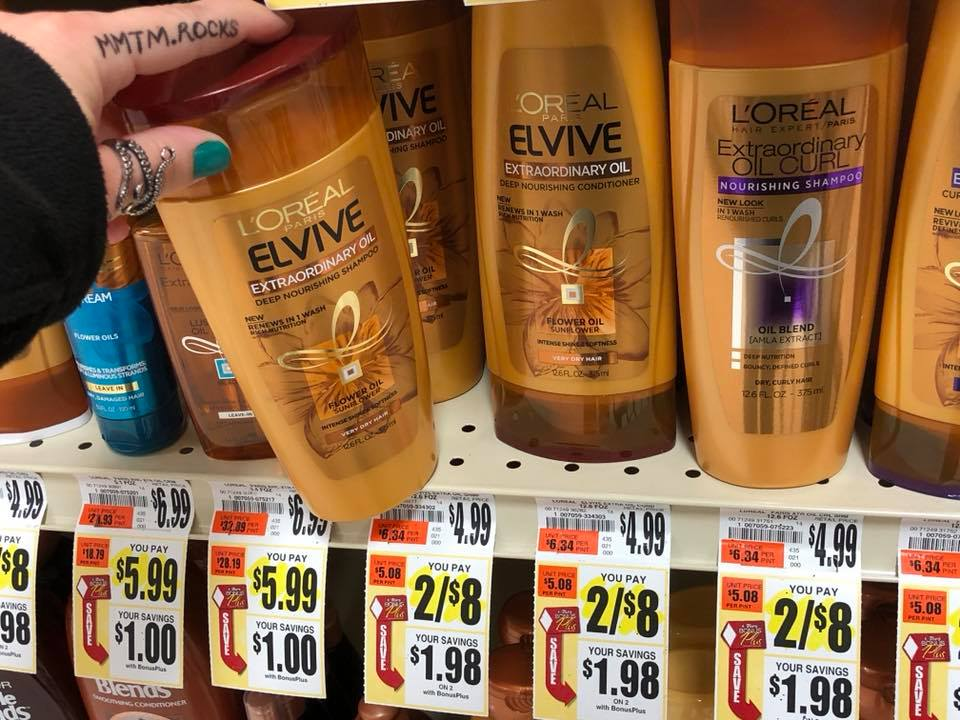 L'Oreal Shampoo At Tops