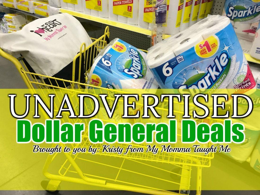 Unadvertised Dollar General Deals