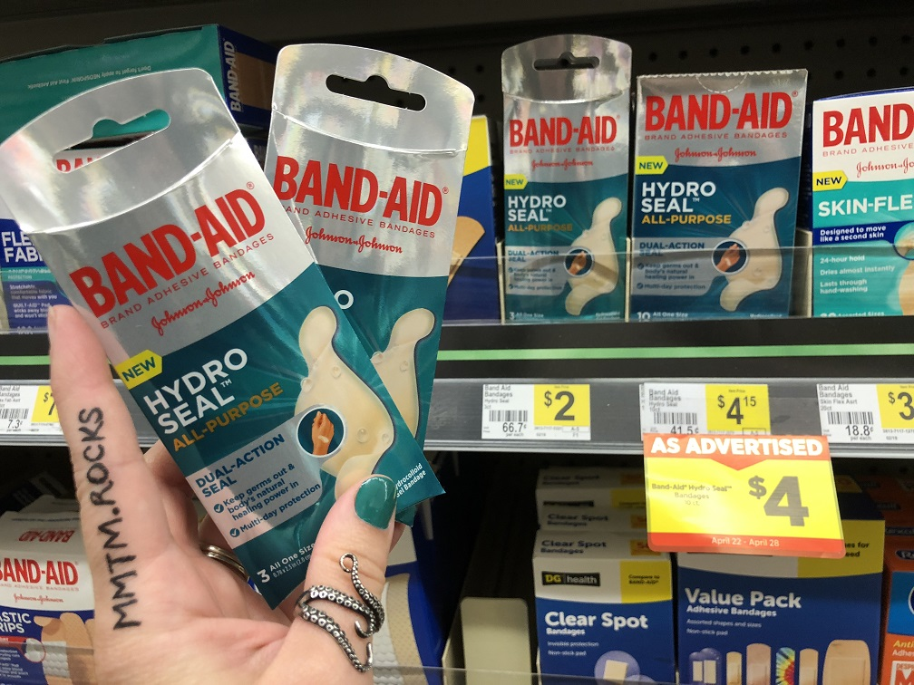 FREE Band-Aid Hydro Seal Bandage at Dollar General