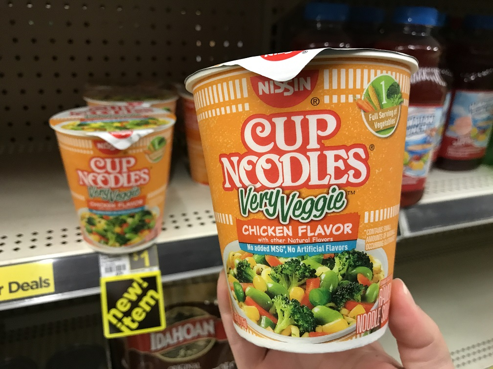 FREE Nissin Cup at Dollar General