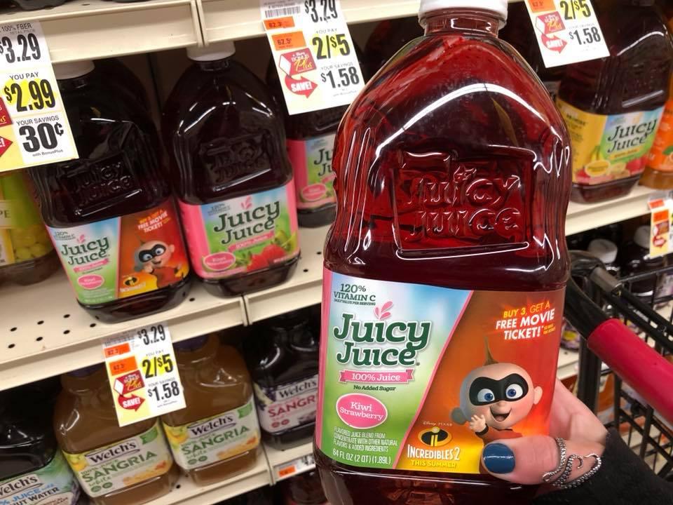 Juicy Juice At Tops