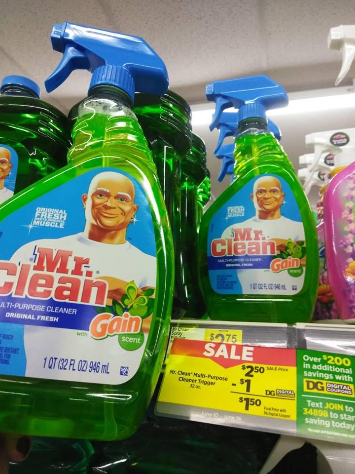 Mr Clean Spray