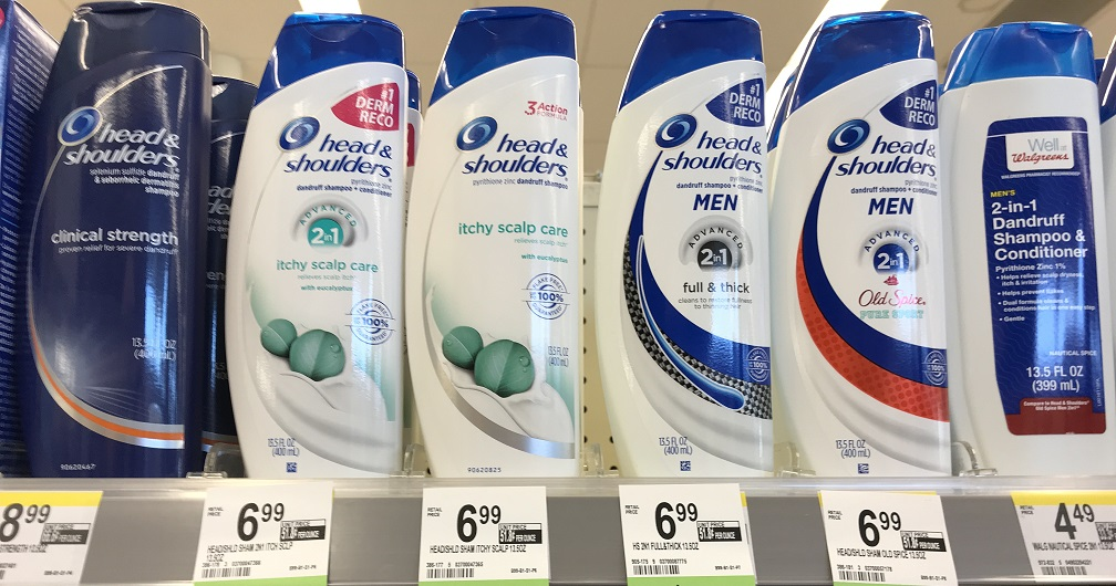 Head And Shoulders Price Walgreens