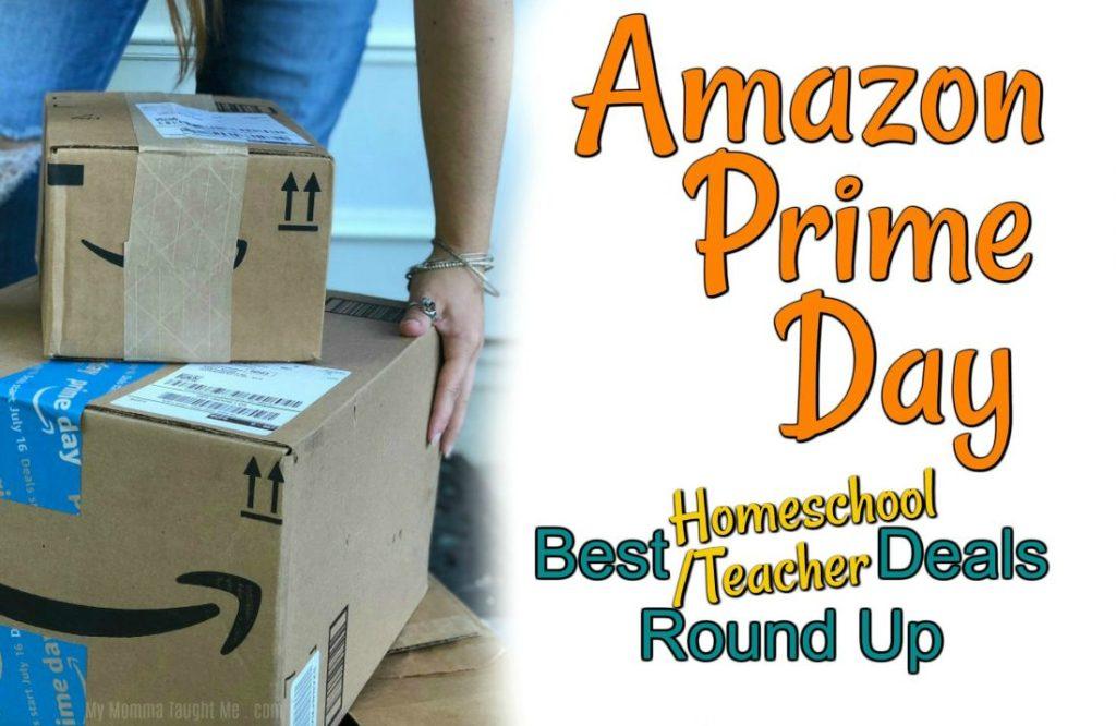 Best Homeschool / Classroom Prime Day Deals 2018