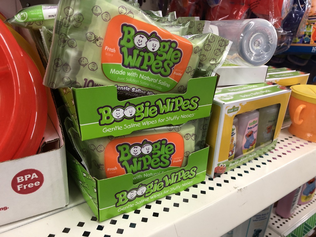 Grab Boogie Wipes for $0.50 at Dollar Tree