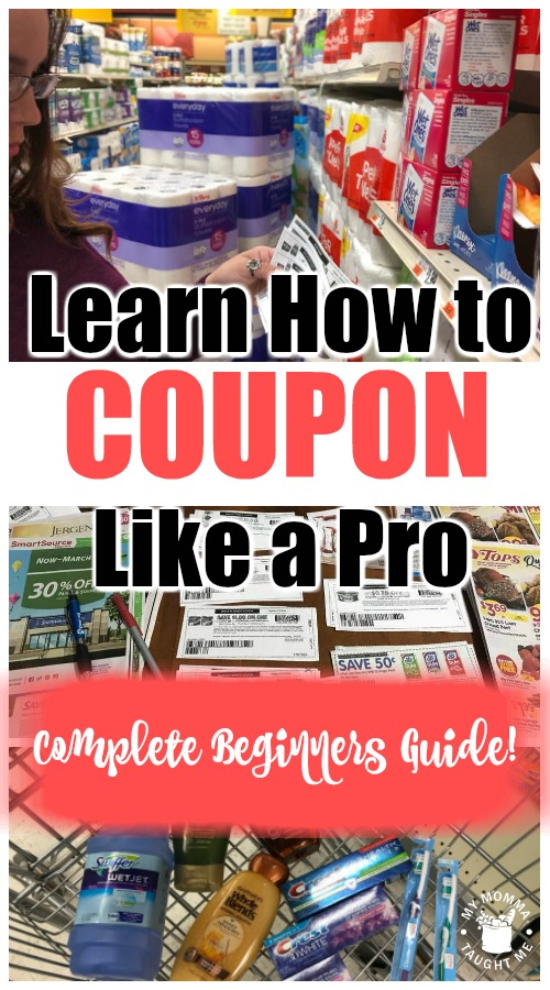 Learn How To Coupon Like A Pro Complete Beginners Guide