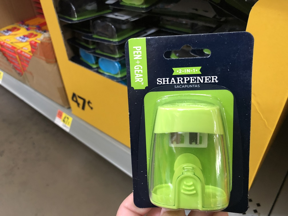 Kids Pencil Sharpener $0 47 At Walmart