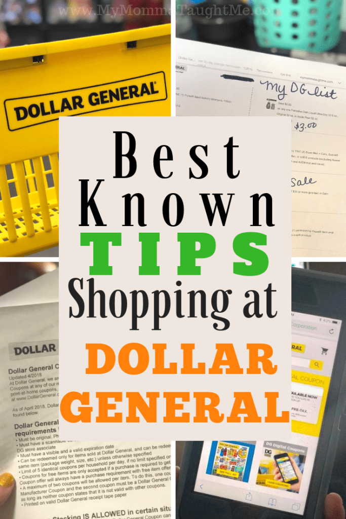 Best Known Tips Shopping At Dollar General