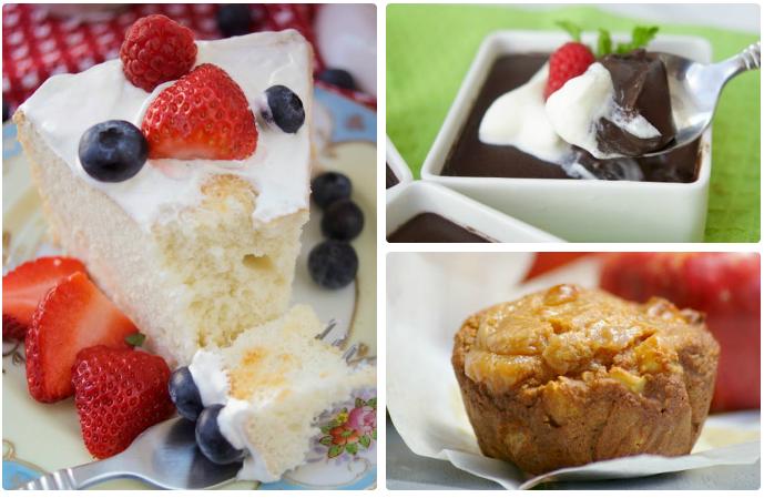 Low Sugar And Sugar Free Healthy Desserts