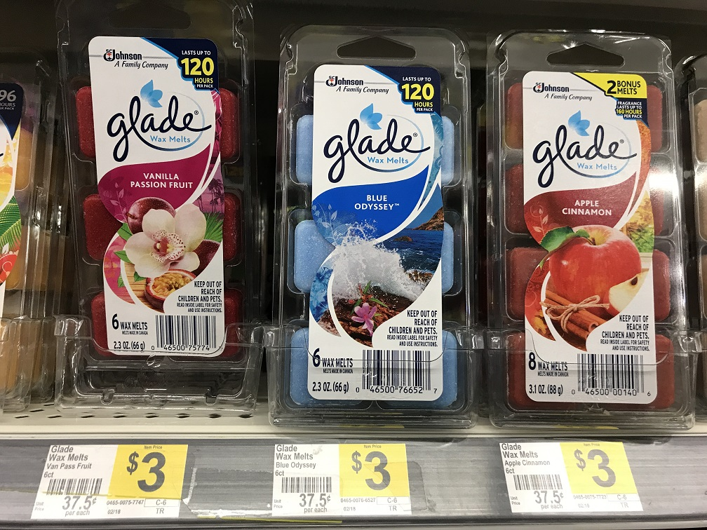 Save 50% on Glade Wax Melts with Instant Savings and Coupons at Dollar General