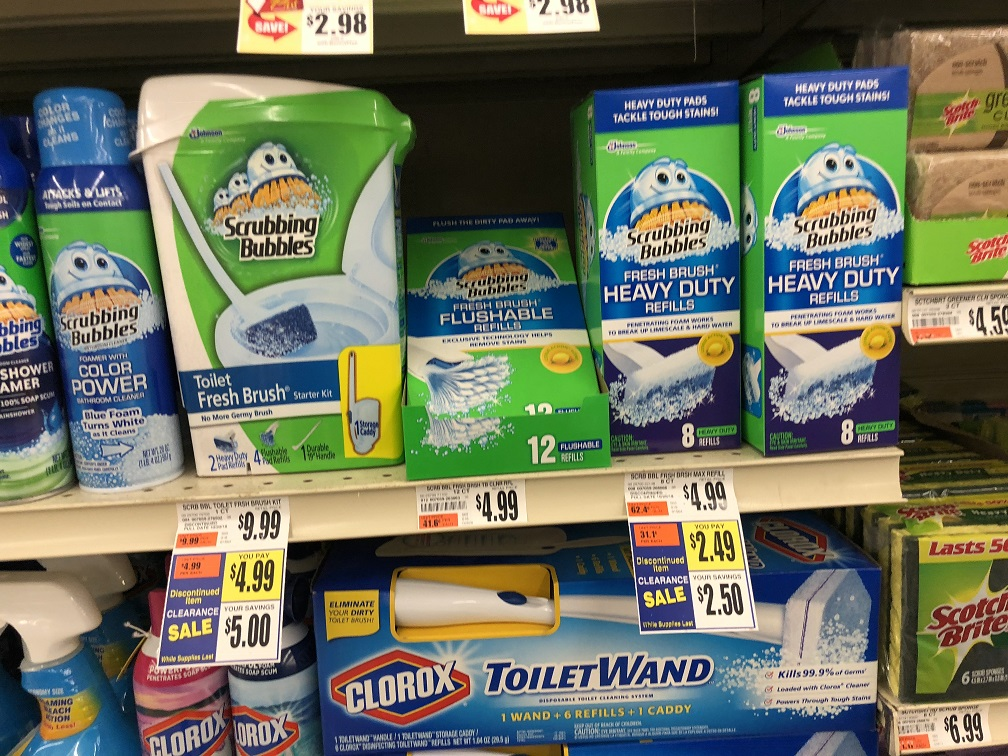 Scrubbing Bubbles Clearance At Tops