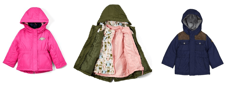 Today Only Carter's 4-in-1 Kids Coats JUST $19.99