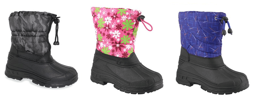 Kids Winter Boots Only $13.79 each!