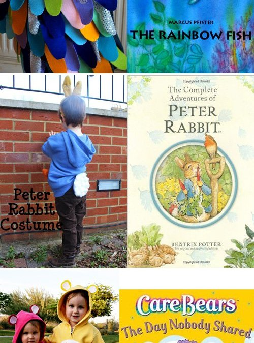 15 Book Inspired Costumes for Kids