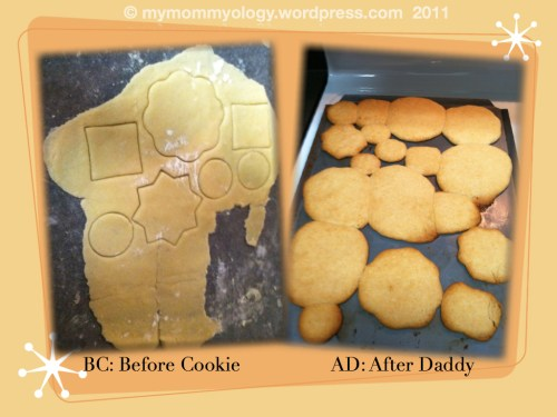 My Mommyology Cookie Making