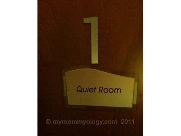 My Mommyology Quiet Room