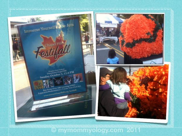 My Mommyology Chapel Hill Festifall