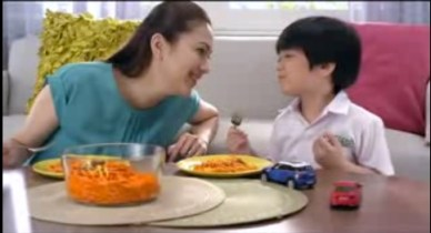 A clip from the Del Monte Ad