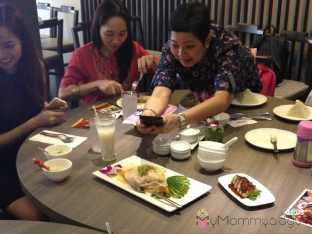 Fellow SoMom Patty of NonstopBabble wants more Hainanese Chicken the next time around! ;)