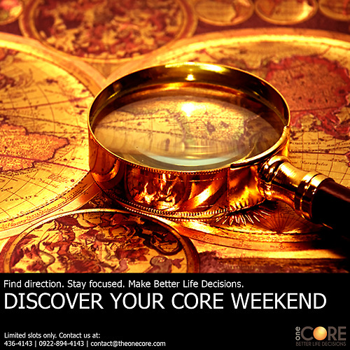 The Discovery Your Core Banner Ad.