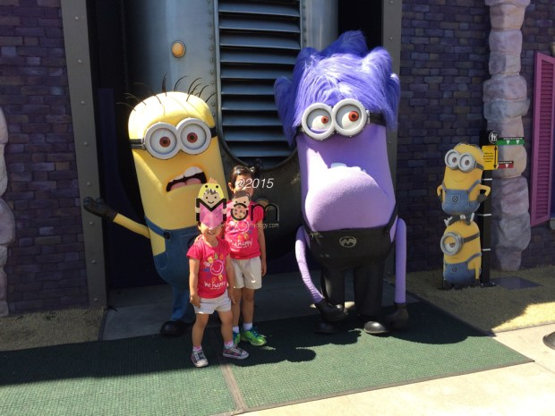 The Minions and My Minions.