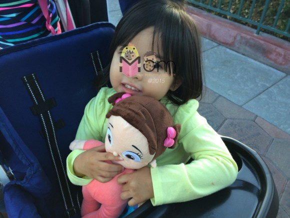 One of Jamie's many conquests. They did say she looks like Boo in pigtails.