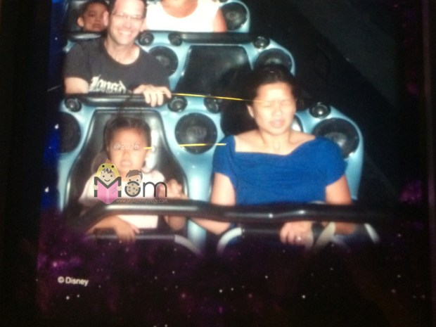 Exhibit A: Space Mountain. I think my face says it all.