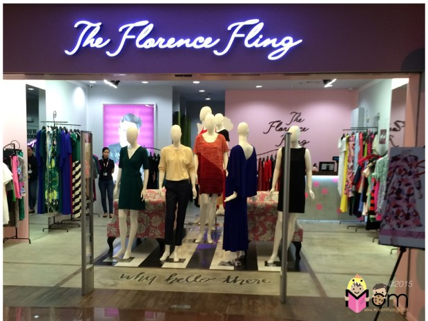 The fresh look of the Florence Fling store!