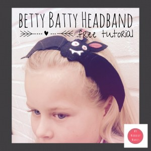 Betty Batty Headband