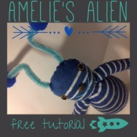 Sock Alien Tutorial