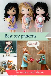 Best felt toy patterns