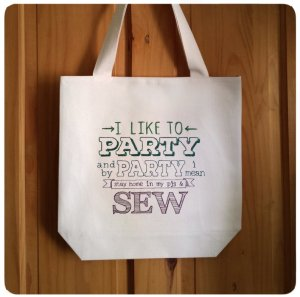 tote bag sewing
