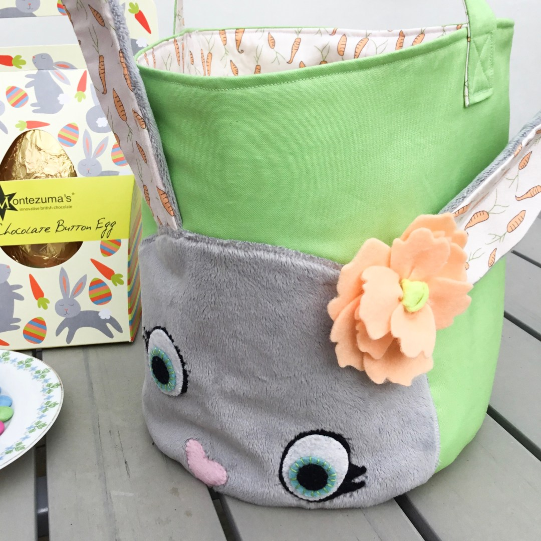 easter basket sewing