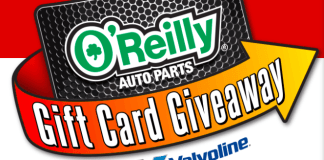 Enter Code OReillySweeps.com to Win $100 Gift Card